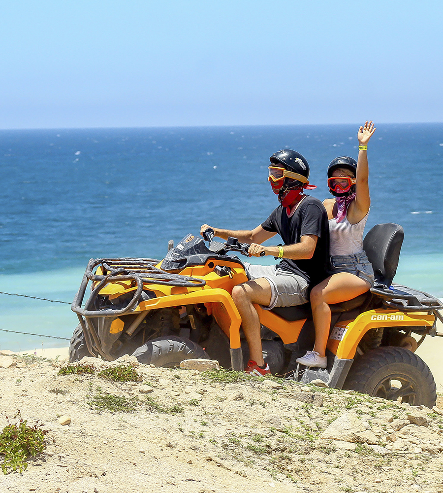 ATV Desert and Beach