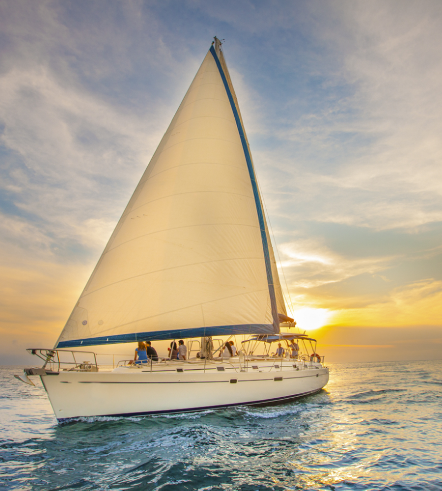 Luxury Sunset Sailing