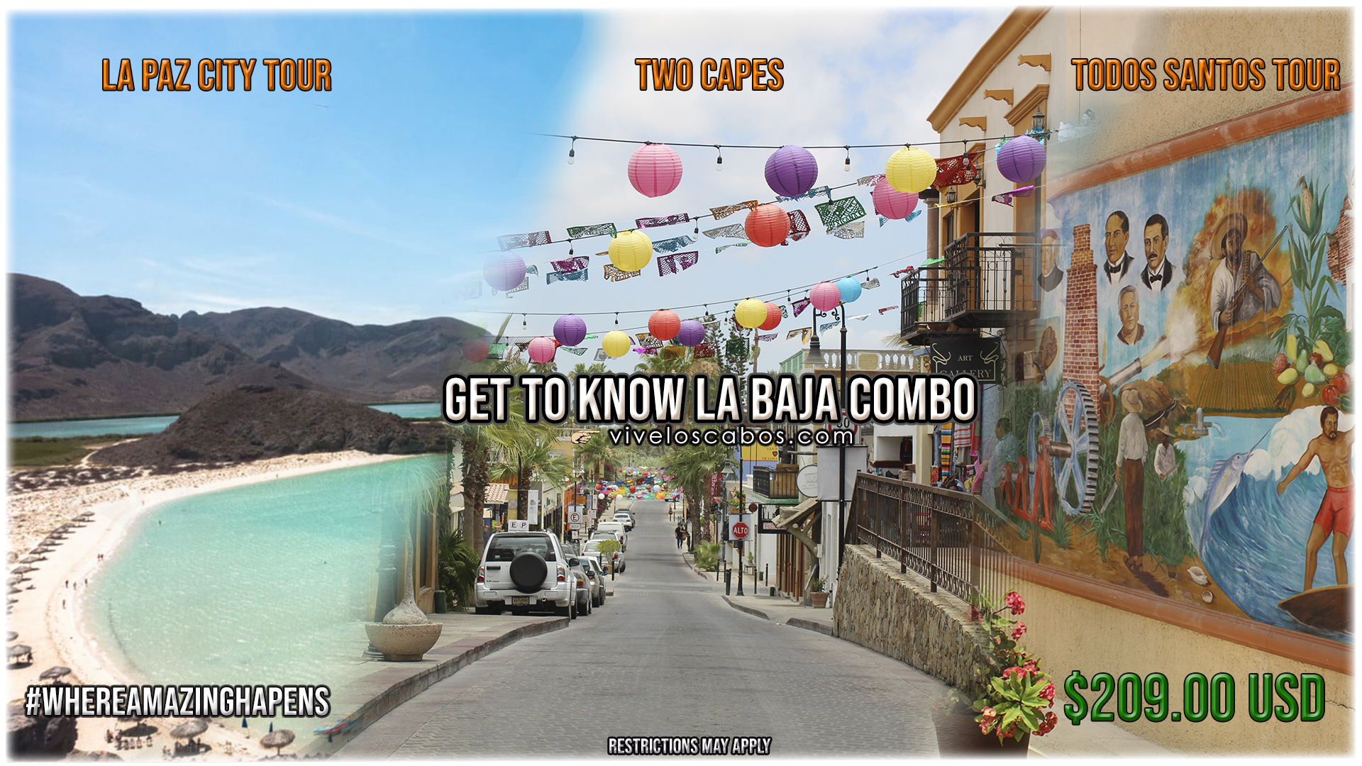 Get to know Baja Combo